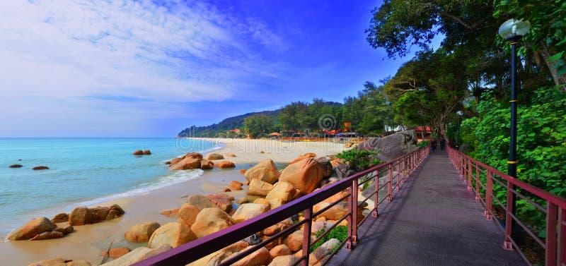 Pantai Telok Cempedak стоковая фотография rf