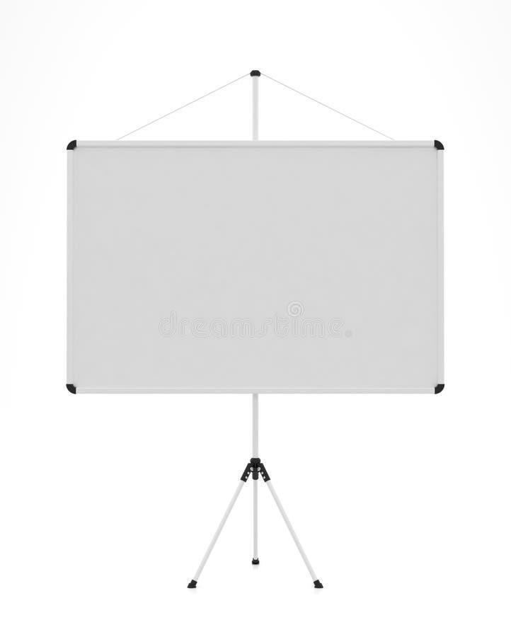 Pantalla de la presentación stock de ilustración