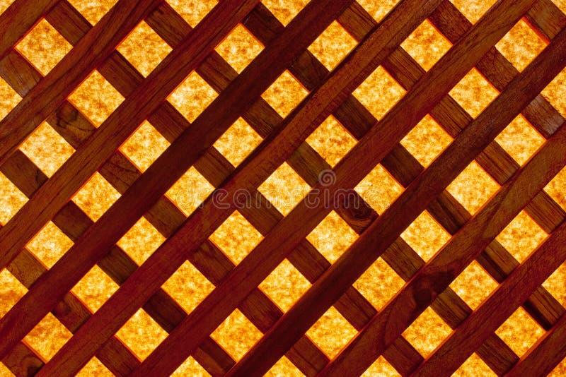 Pantalla de madera imagen de archivo