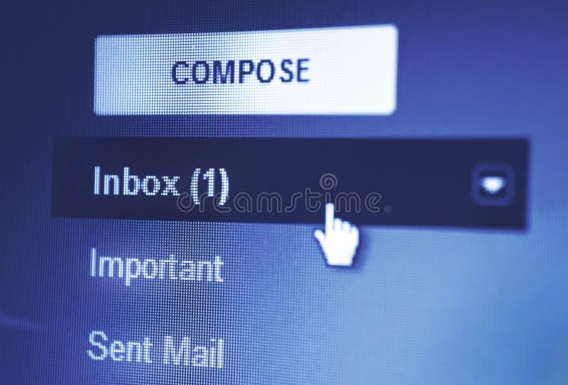Pantalla de monitor imagen de archivo libre de regalías