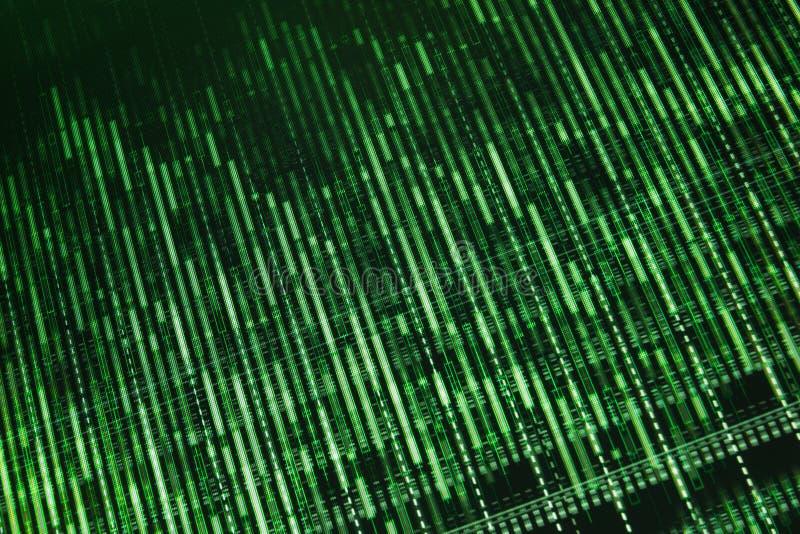 Pantalla de ordenador comercial común. Monitor en línea de las divisas. fotos de archivo libres de regalías