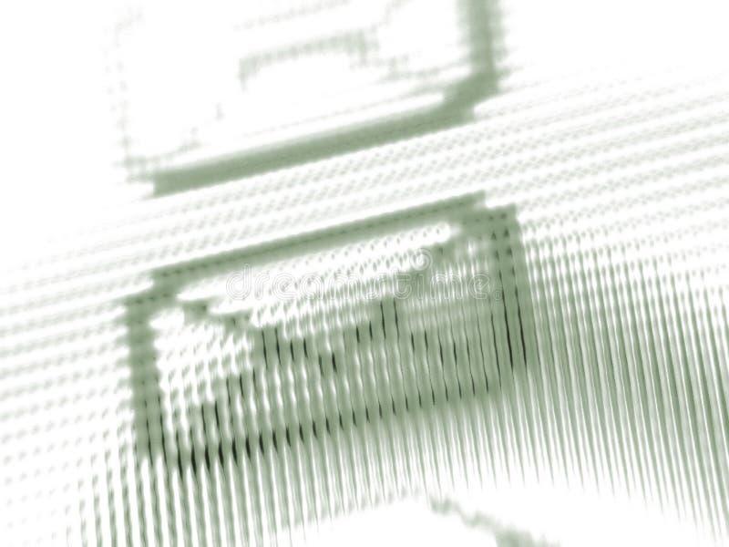 Pantalla del email imagen de archivo