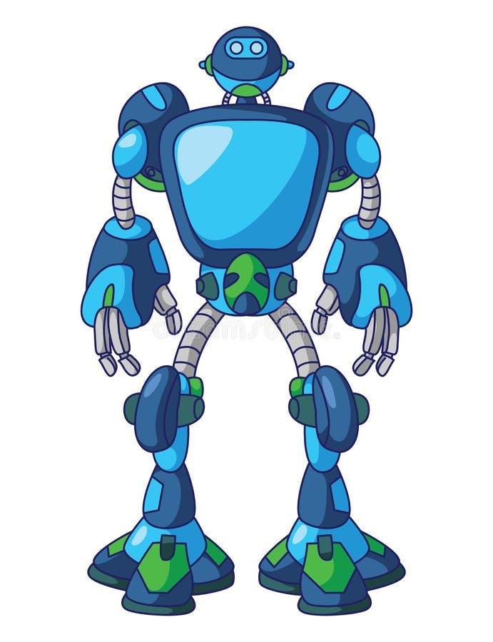 Pantalla del robot libre illustration