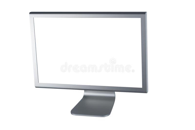 Pantalla plana del monitor del Lcd fotos de archivo libres de regalías