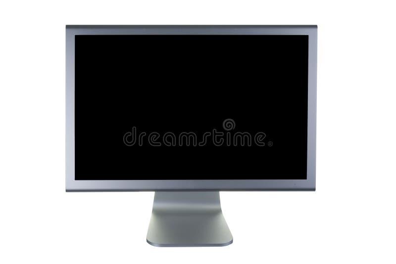 Pantalla plana del monitor del Lcd imagen de archivo libre de regalías