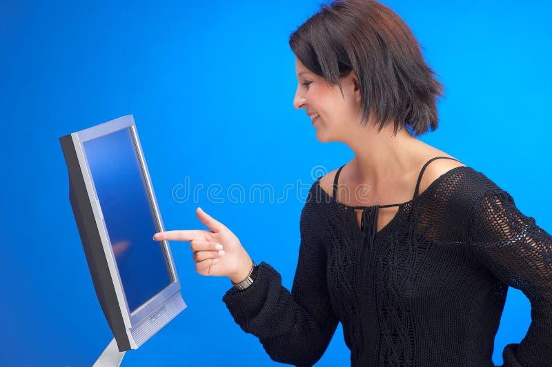 Pantalla táctil imágenes de archivo libres de regalías