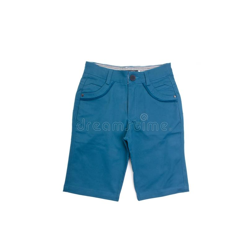 Pantalon, pantalon d'enfant sur le fond photographie stock libre de droits
