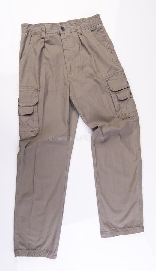 pantalon pantalon d'homme sur un fond photographie stock libre de droits