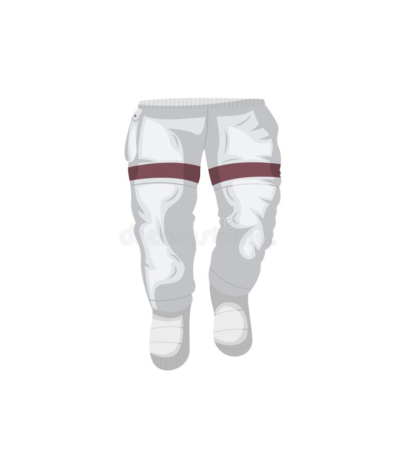 Pantalon d'icône d'isolement de costume d'espace illustration libre de droits