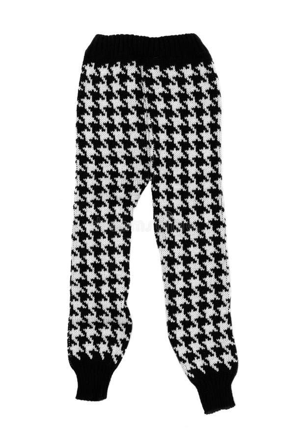 Pantalon de laine d'enfants photo libre de droits