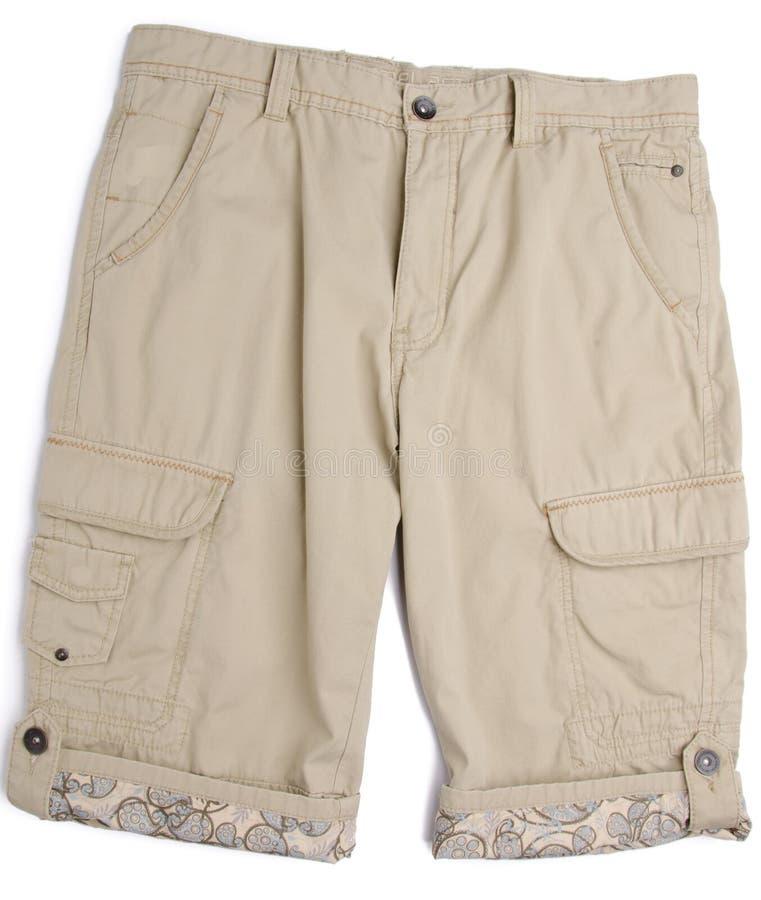 Pantalon, pantalon d'enfant sur le fond photographie stock
