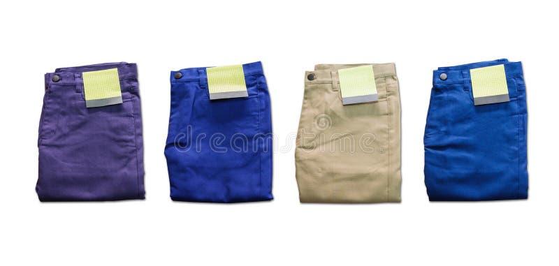 Pantalones fotografía de archivo libre de regalías