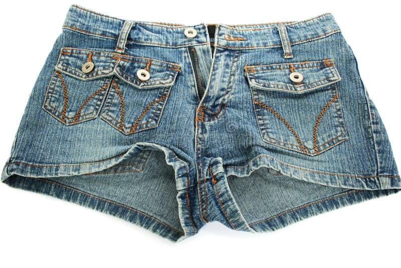 Pantalones cortos de los tejanos foto de archivo libre de regalías