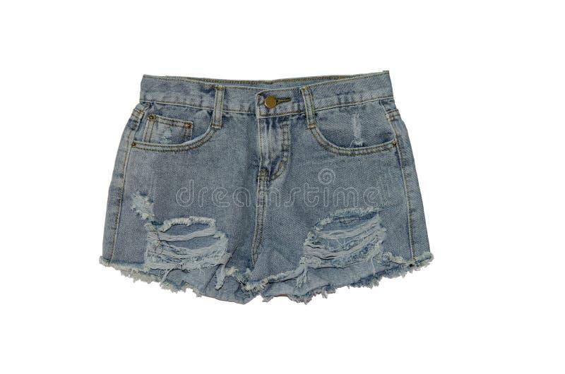 Pantalones cortos de los vaqueros imágenes de archivo libres de regalías
