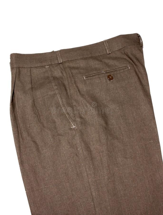 Pantalones de Brown fotos de archivo libres de regalías