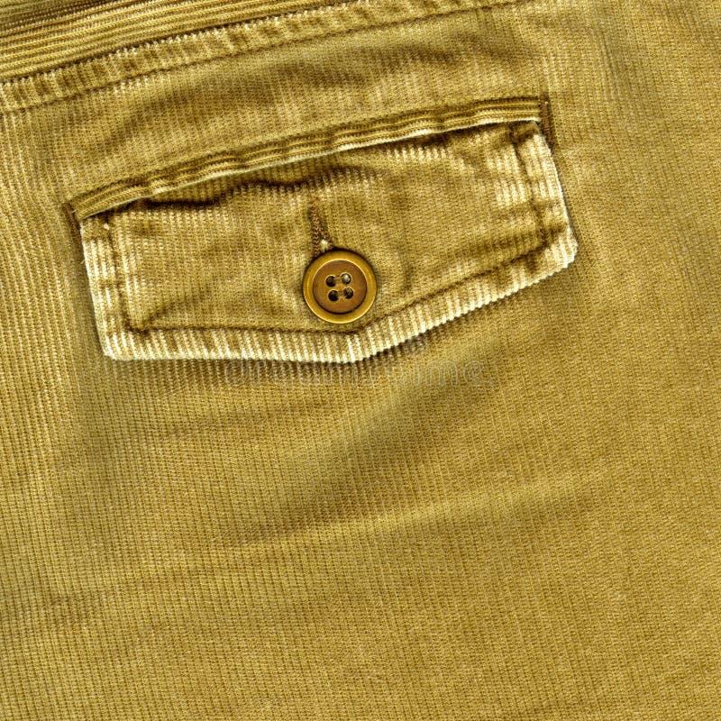 Pantalones de la pana imagen de archivo libre de regalías