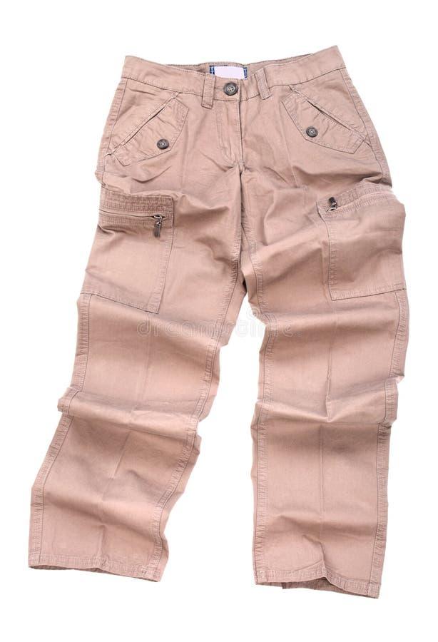 Pantalones de los pantalones aislados imágenes de archivo libres de regalías