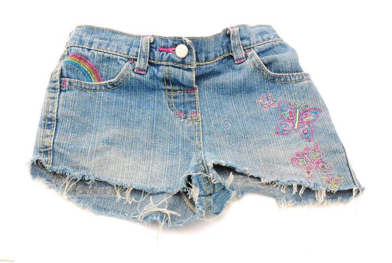 Pantalones del dril de algodón imagen de archivo libre de regalías