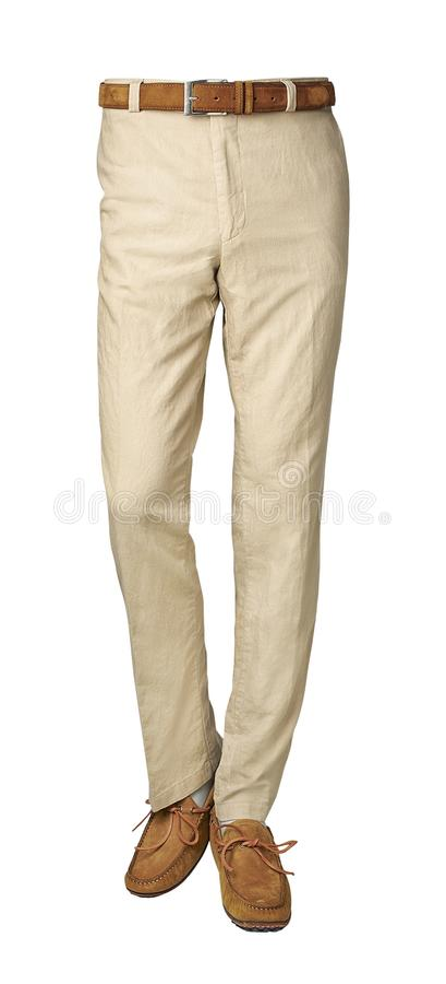 Pantalones para los hombres aislados en blanco con la trayectoria de recortes imagen de archivo