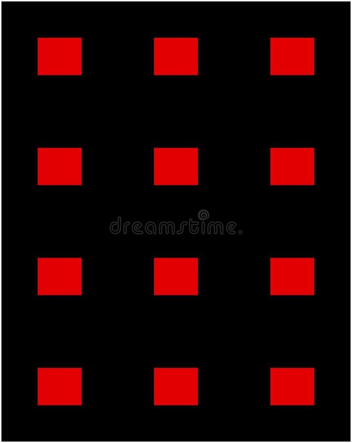 Pantalones rojos del cuadrado de la fase imagenes de archivo