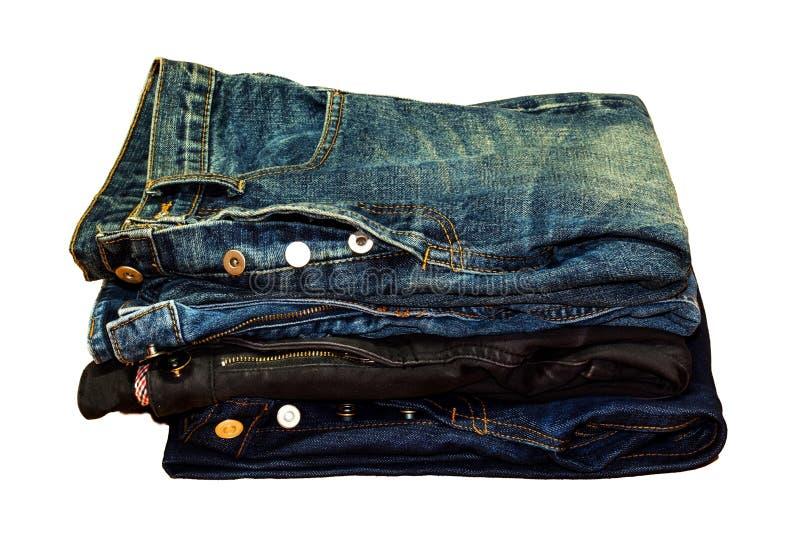 Pantalones vaqueros fotografía de archivo