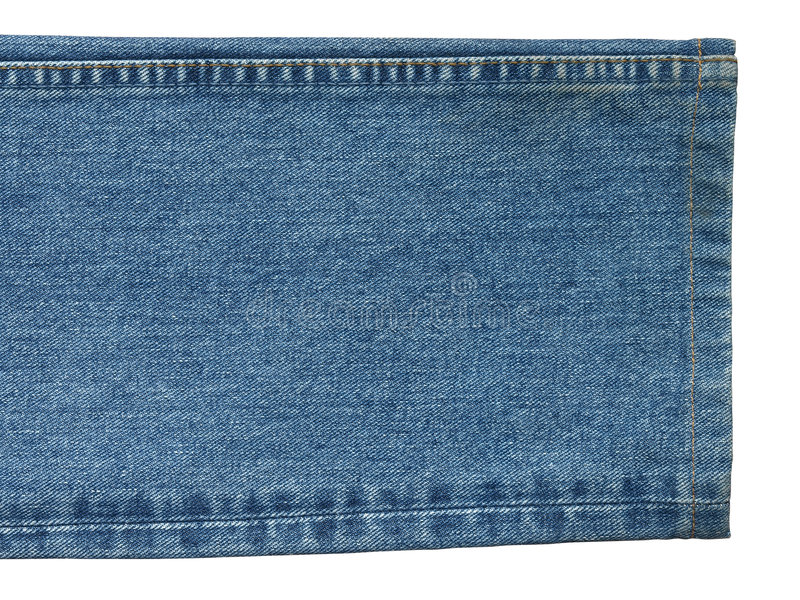 Pantalones vaqueros con la costura imágenes de archivo libres de regalías