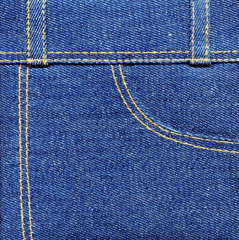Pantalones vaqueros del dril de algodón fotos de archivo libres de regalías