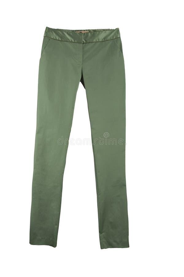 Pantalones verdes fotografía de archivo libre de regalías