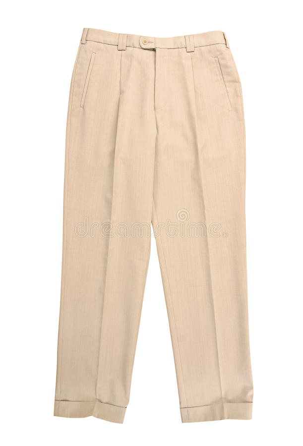 Pantaloni bianchi immagine stock libera da diritti
