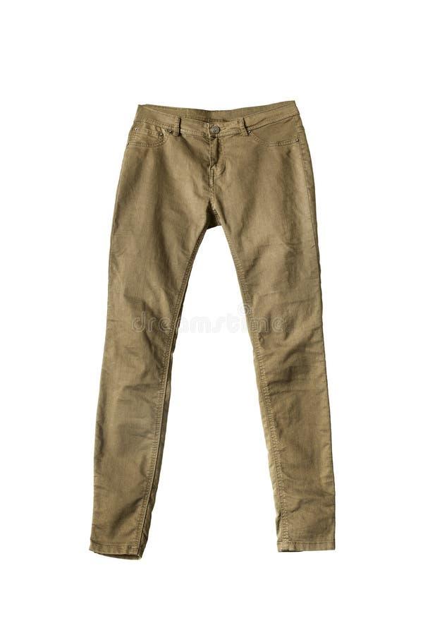 Pantaloni cachi immagine stock