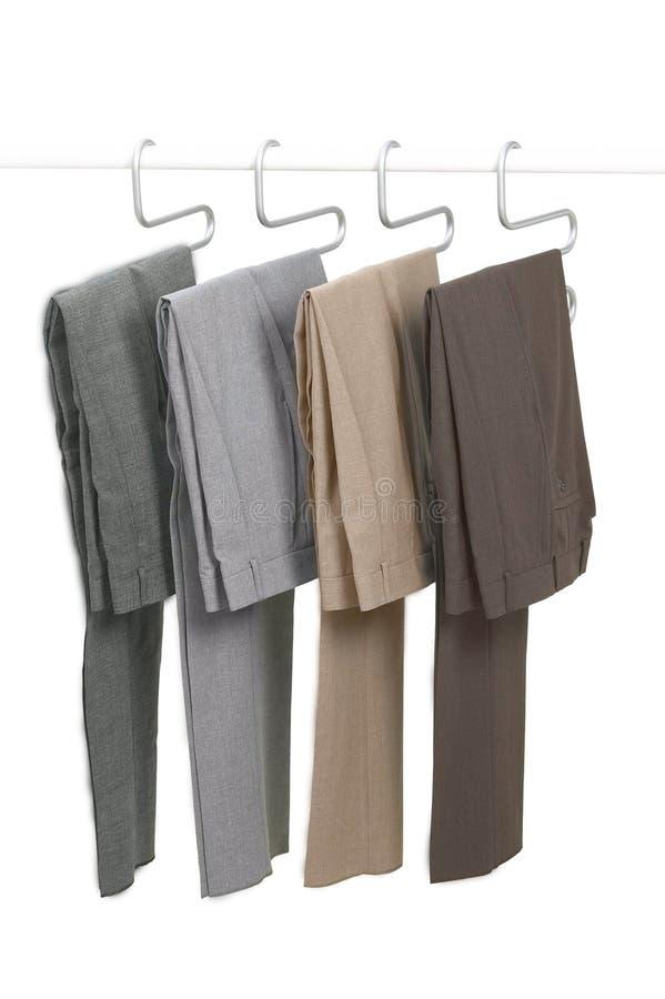 Pantaloni d'attaccatura fotografia stock