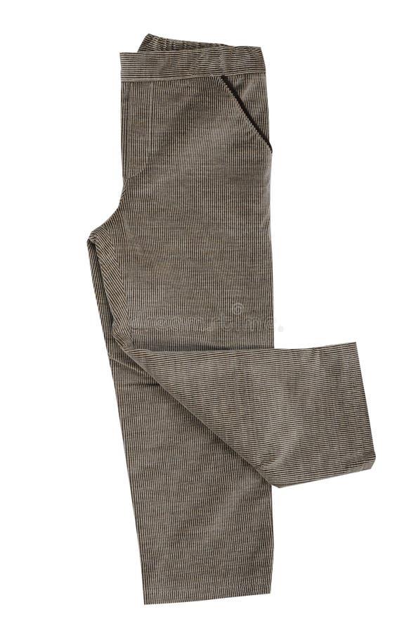 Pantaloni di fustagno fotografie stock