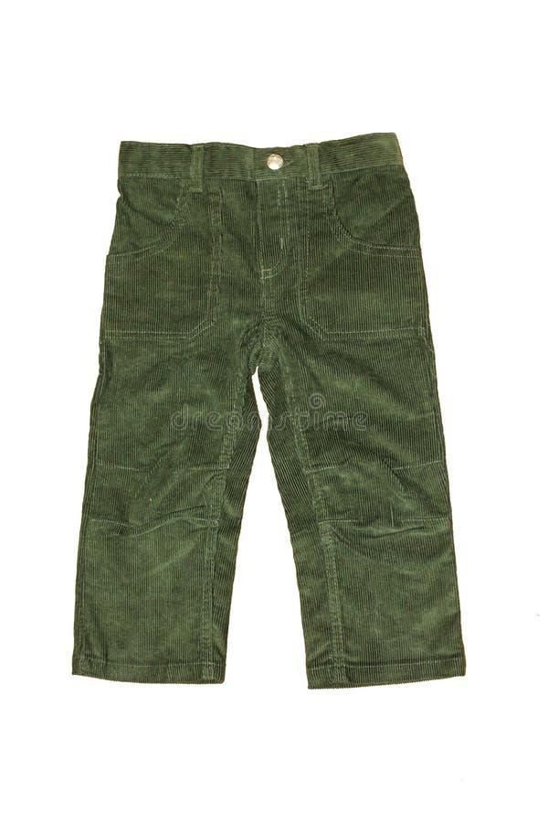 Pantaloni di fustagno fotografia stock libera da diritti