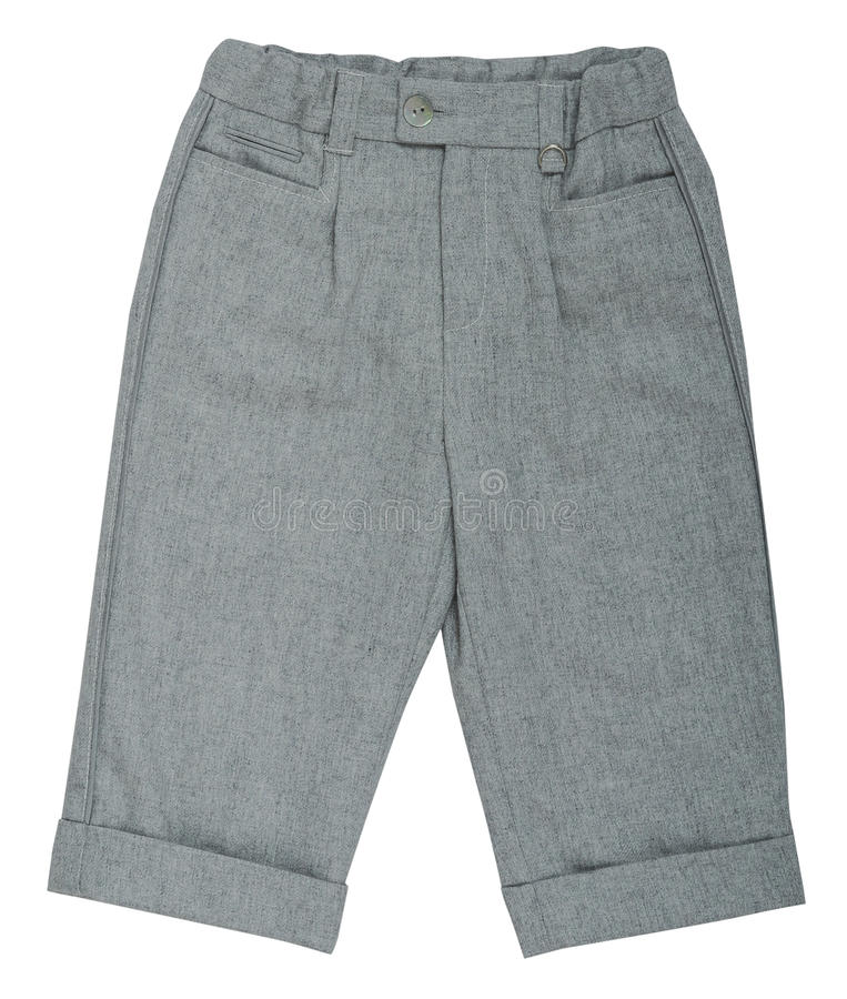 Pantaloni grigi immagini stock libere da diritti