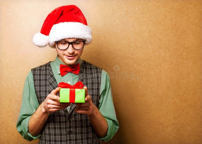 Pantaloni a vita bassa Santa Claus fotografia stock