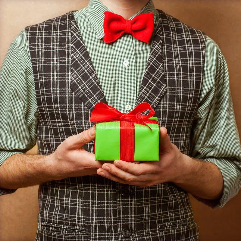 Pantaloni a vita bassa in Santa Claus immagini stock libere da diritti