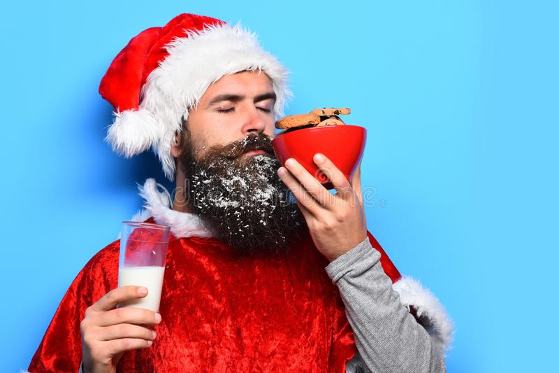 Pantaloni a vita bassa Santa Claus immagini stock