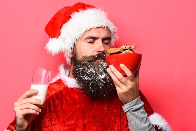 Pantaloni a vita bassa Santa Claus immagini stock libere da diritti