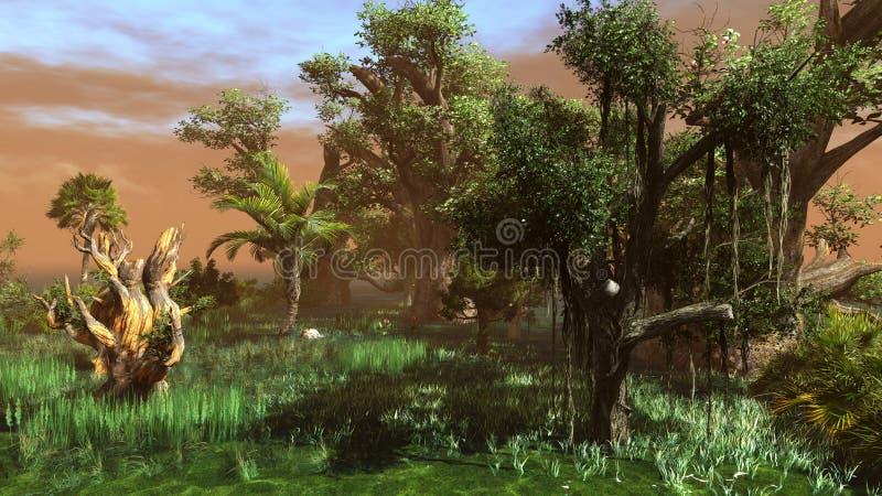Download Pantanal ilustração stock. Ilustração de nave, lago, console - 26511416