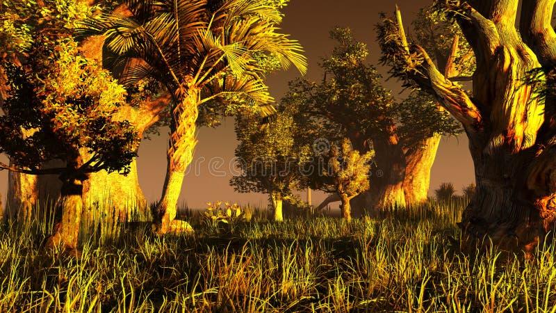 Download Pantanal ilustração stock. Ilustração de chuva, plantas - 26511434