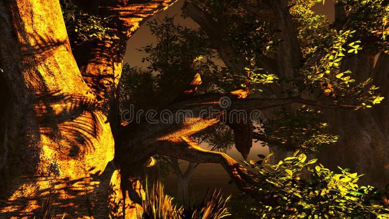 Download Pantanal ilustração stock. Ilustração de console, flooding - 26511533