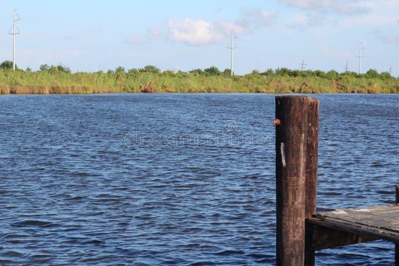 Pantano Lafourche, Luisiana fotos de archivo
