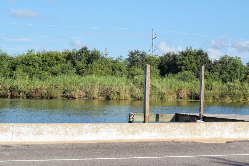 Pantano Lafourche, Luisiana fotos de archivo libres de regalías