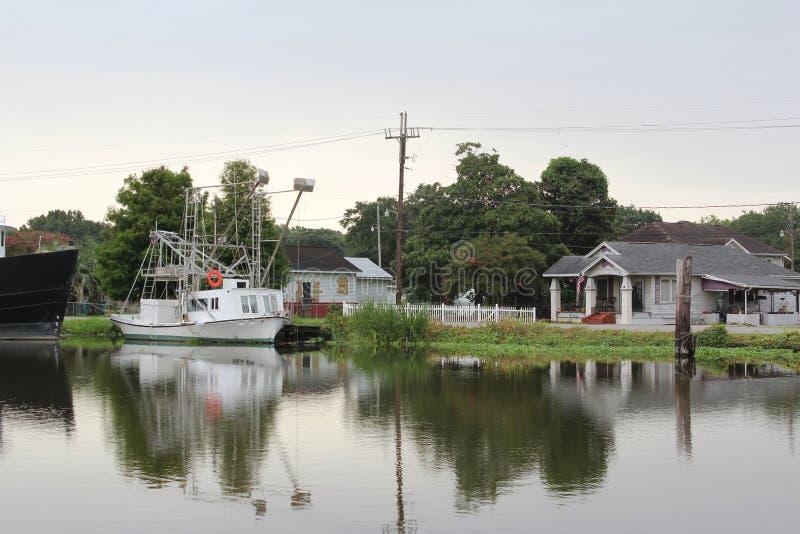 Pantano Lafourche, Luisiana imagen de archivo