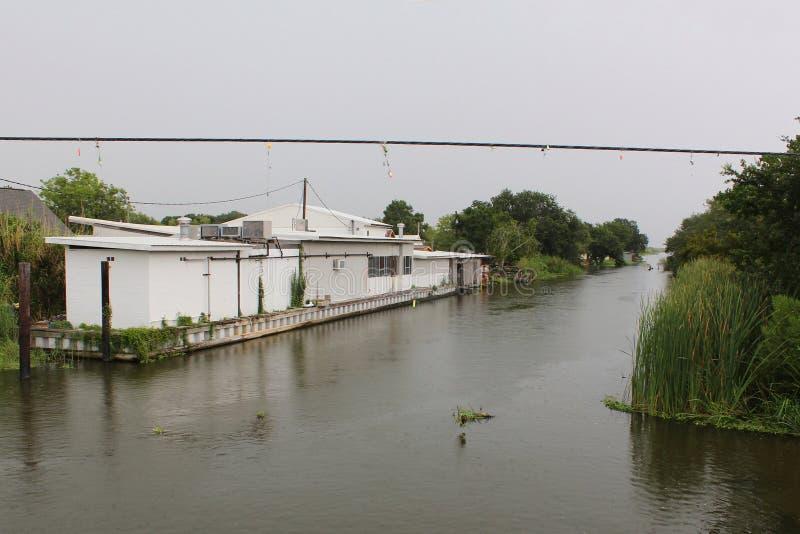 Pantano Lafourche, Luisiana fotografía de archivo