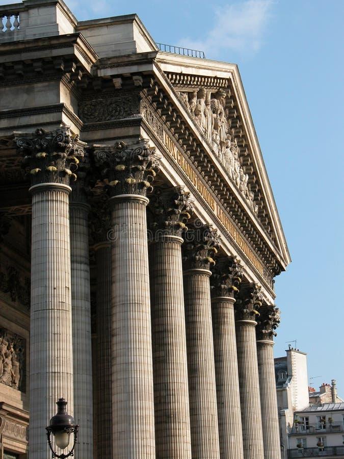 Panteão imagem de stock