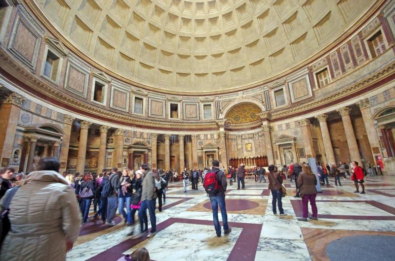 Panteão em Roma imagem de stock