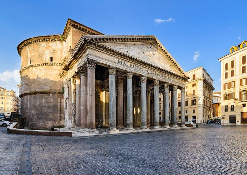 Panteão em Roma, Italy fotografia de stock royalty free
