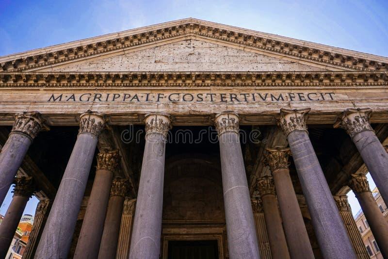 Panteão - Roma - Itália fotografia de stock royalty free