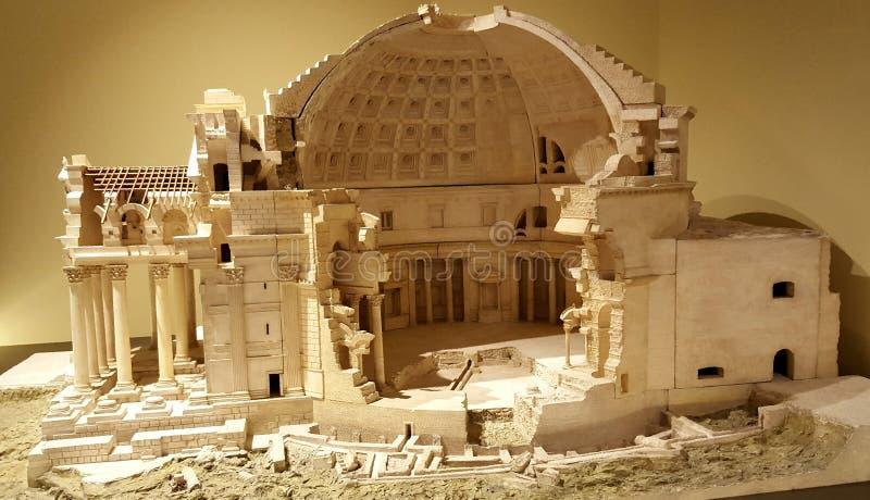 Panteão romano imagem de stock royalty free